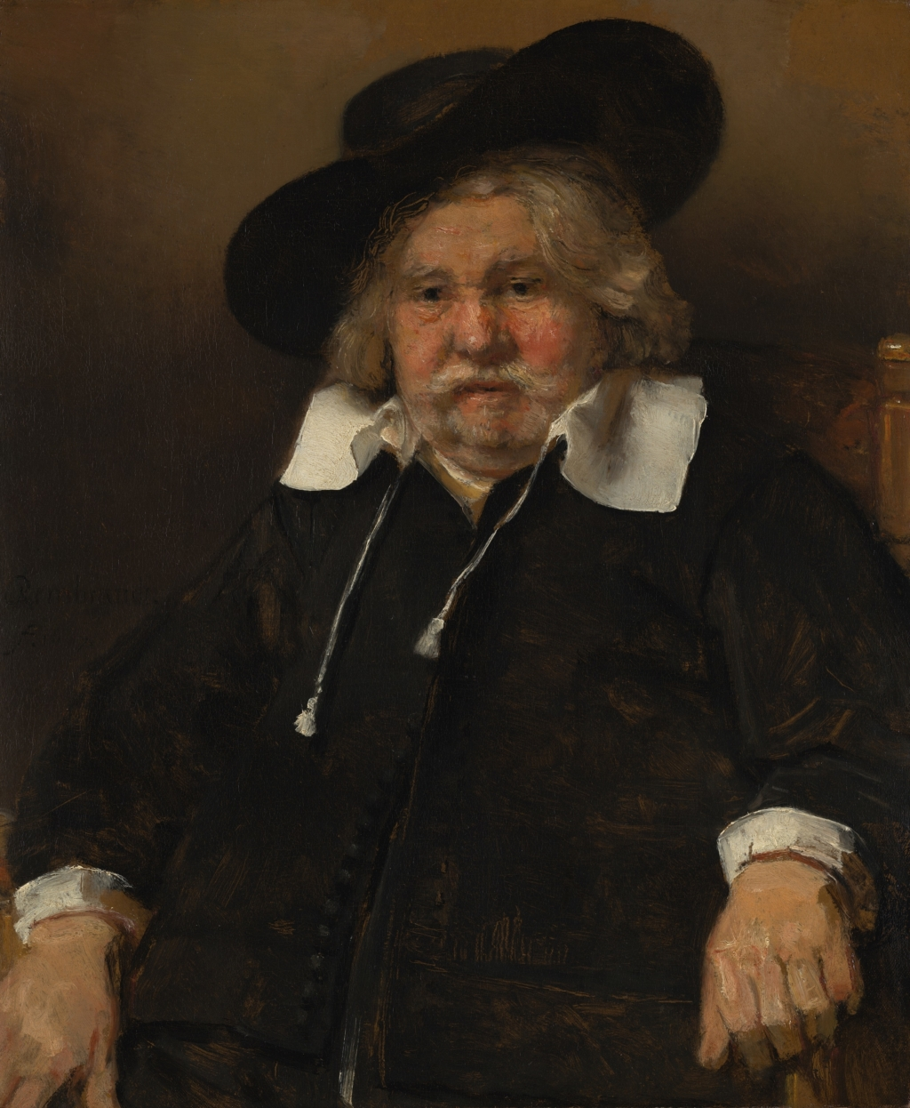 Rembrandt Oude Man