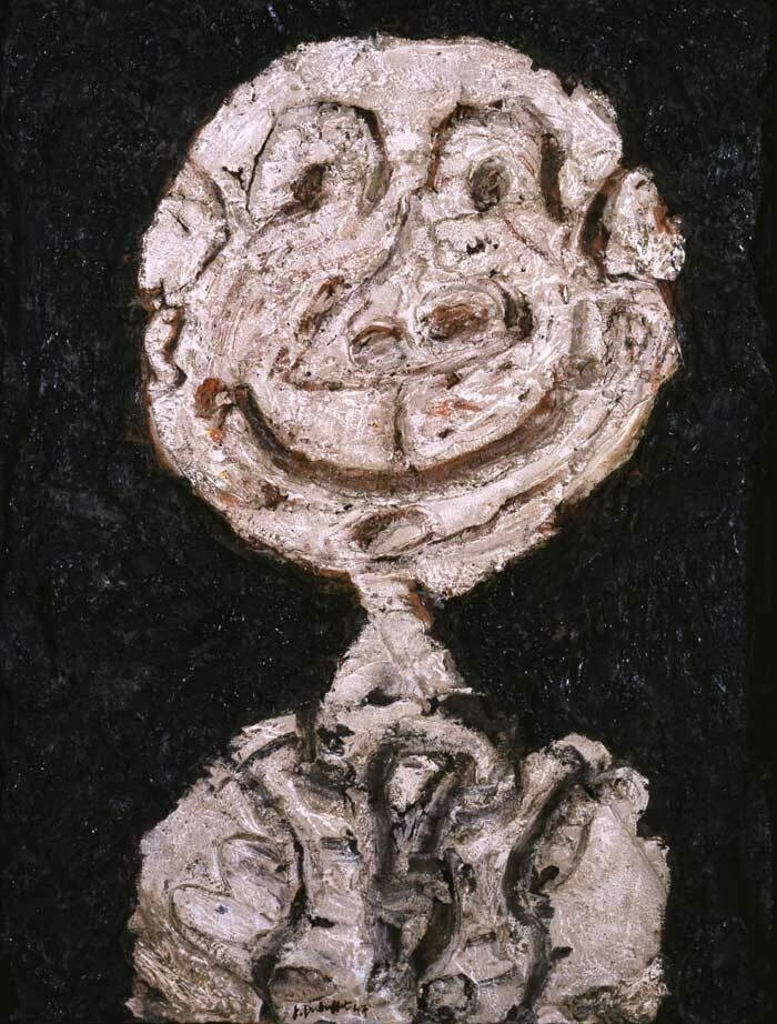 Dubuffet Personnage hilare