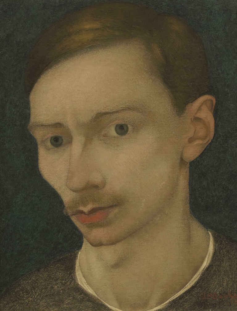 Lowres Jan Mankes Zelfportret 1915 Collectie Museum MORE